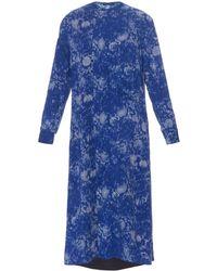 Yohji Yamamoto Regulation - Paisley-lawn Dress - Lyst