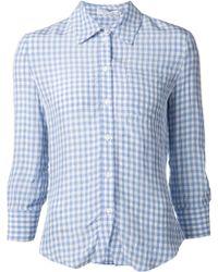 Altuzarra Volpone Gingham Shirt - Lyst