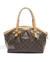 Louis Vuitton Preowned Monogram Canvas Tivoli Gm Bag - Lyst