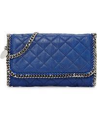 Stella McCartney Falabella Quilted Shoulder Bag - Lyst
