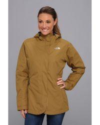 The North Face Khaki Mesmeric Jacket - Lyst