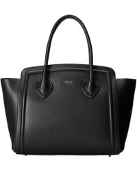 Furla College Large Tote North/South - Lyst