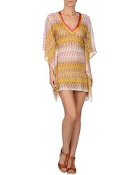 Missoni Mare Yellow Coverup - Lyst