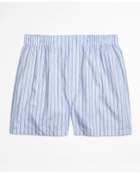 Brooks Brothers   Traditional Fit Ombre Stripe Boxers   Lyst
