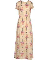 Paul & Joe Sister Yellow Long Dress - Lyst