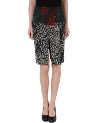 Roland Mouret Knee Length Skirt - Lyst