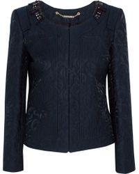 Matthew Williamson - Embroidered Cotton-blend Jacket - Lyst