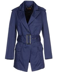 Vivienne Westwood Anglomania Full-Length Jacket blue - Lyst