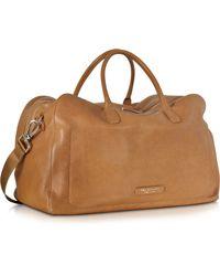 The Bridge | Brown Leather Duffle Bag | Lyst