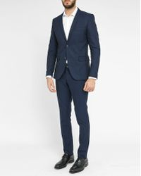 Selected | Blue Zero My Lovaux Hall Pr Suit Trousers | Lyst