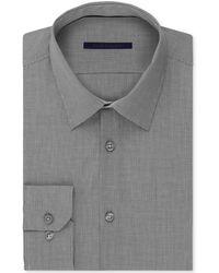 Elie Tahari Black Micro-gingham Dress Shirt - Lyst