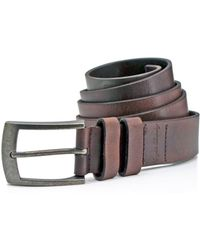 English Laundry - Jean Leather Belt - Compare At $79.50 - Lyst