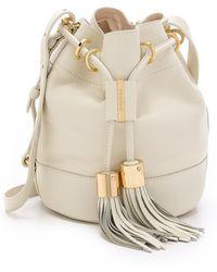 See By Chloé Vicki Small Bucket Bag - Nougat - Lyst