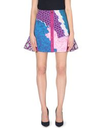Peter Pilotto Printed A-Line Skirt - For Women - Lyst