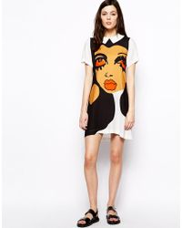Peter Jensen Julie Dress in Diana Ross Print - Lyst
