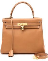 Hermès HermãˆS Beige Handbag beige - Lyst