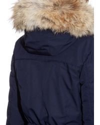 Canada Goose expedition parka replica store - Canada goose Black Label Elrose Down Parka in Blue (black) | Lyst