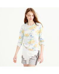J.Crew Sundry™ Floral Sweatshirt multicolor - Lyst