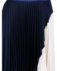 Theory Knee Length Skirt - Lyst