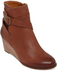 Lucky Brand Womens Ginnie Booties - Lyst