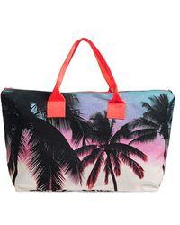Samudra - 'makaha Sunset' Canvas Weekend Bag - Lyst