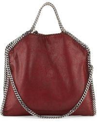 Stella McCartney Falabella Fold-over Tote Bag - Lyst