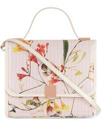 Ted Baker Botanical Bloom Print Lady Bag Pink - Lyst