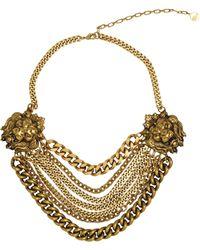 Ela Stone - Lion Necklace - Lyst