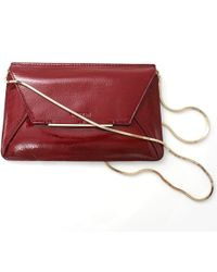 Lanvin R Rigid Clutch - Lyst