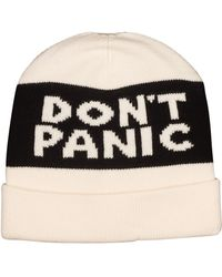 Marc By Marc Jacobs Don'T Panic Beanie black - Lyst