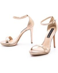 Steven Rykie Single Band Sandals - Lyst