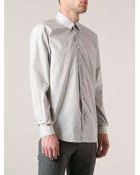 Marc Jacobs Gray Classic Shirt - Lyst