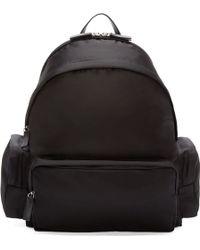 DSquared² Black Nylon Backpack - Lyst