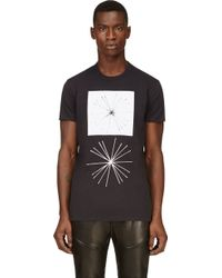 Silent - Damir Doma Black Logo Graphic T_shirt - Lyst