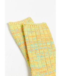 O'Hanlon Mills - Chunky Knit Twisted Marled Boot Sock - Lyst