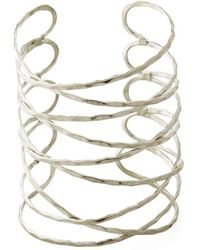 Mata Traders - Laud Of The Rings Bracelet In Silver - Lyst