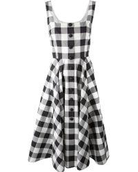 Dolce & Gabbana Check Dress - Lyst