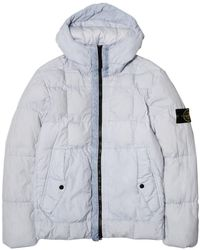 Stone Island - Real Down Outerwear 691541223 - Lyst