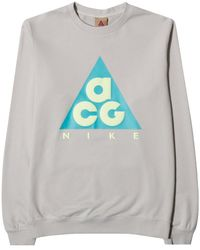 Nike - Acg Fleece Crew - Lyst