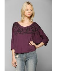 Truly Madly Deeply - Garden Of Eden Necklace Tee - Lyst