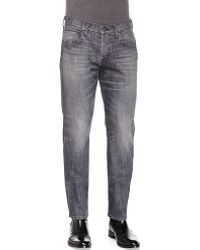 Hudson Blake Search-and-destroy Slim-straight Jeans - Lyst