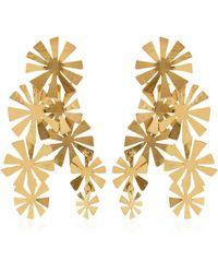 Herve Van Der Straeten Boucles D'Oreille Fleurs Earrings - Lyst