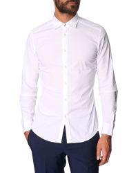 Diesel S-Toki White Basic Shirt white - Lyst