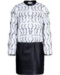 Iris Van Herpen Short Dress - Lyst