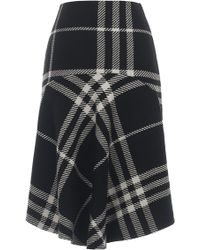 Ioana Ciolacu - Triple Check Skirt - Lyst