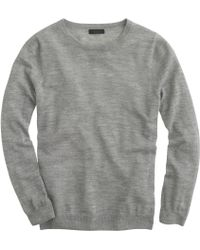 J.Crew Collection Featherweight Cashmere Long-Sleeve Tee - Lyst