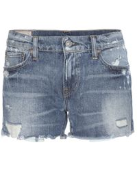 Polo Ralph Lauren - Crosby Denim Shorts - Lyst