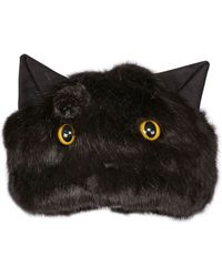 Urbancode Faux Fur Hat With Cat Ears & Eyes - Lyst