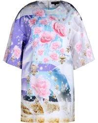 Manish Arora Short Dress multicolor - Lyst