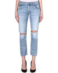Citizens Of Humanity Emerson Boyfriend Mid-rise Cropped Jeans - Lyst